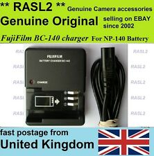 Genuine Original FujiFilm Charger BC-140 NP-140 finePix S100fs S200 EXR S205exr