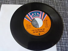 The Isley Brothers 45 Nothing to Do but Today/It's Tneck 937 70s Crossover Soul
