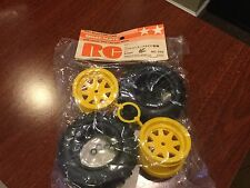Vintage Tamiya FALCON Striker Sonic Fighter  Rear Wheel Tire Set 5288
