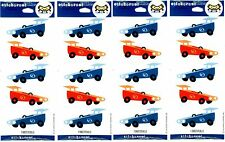 4 New packs Hallmark GO Cart CAR Stickers! 4 Sheets!