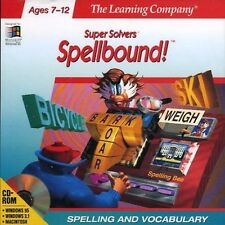 Spellbound PC Games Windows 10 8 7 Vista XP Computer kid spelling tutor learning