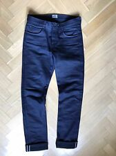 As new Naked and Famous Elephant 4 Selvage heavywight 22oz Jeans-w32, selvedge