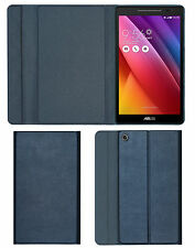 ACM-IMPORTED DESIGNER TRI-FOLD FLIP CASE for ASUS ZENPAD 8.0 Z380KL - ROYAL GREY