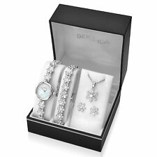 Sekonda Christmas Gift Set Watch Snowflake Necklace, Bracelet and Earrings 2087G