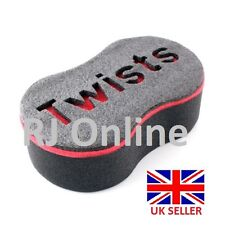 Twist And Coil Hair Curl Brush Sponge (Hard Top Barbers Quality) Fast Delivery