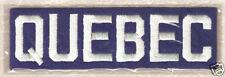 1912 QUEBEC BULLDOGS OFFICIAL NHL HOCKEY THROWBACK TEAM LOGO PATCH WILLABEE WARD