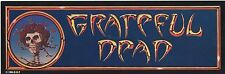 "Grateful Dead 1984 Vintage Sticker Decal 12 1/2"" x 4 1/8"""