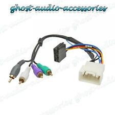 Land Cruiser Active Car Stereo Radio ISO Wiring Harness Adaptor Loom TY-102