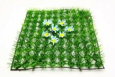 25X25cm Artificial turf Lawn With Flower Yard Store Outdoor decor HK-036
