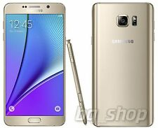 "Samsung Galaxy Note 5 N920 Gold 32GB 4GB RAM OCTACORE 5.7"" Korean Phone By FedEx"