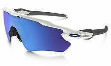 New Oakley Radar EV Path - Polished White - Sapphire Iridium (OO9208-17)