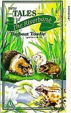 New Tales Of The Riverbank: Tugboat Toadie Parts 1 And 2 [VHS], Acceptable VHS,