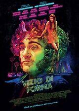 Vizio di forma ( Inherent Vice ) POSTER originale italiano CINEMA 100X140