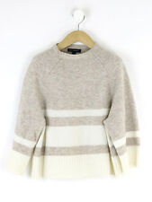 Banana Republic Womens Biscuit Merino Wool Jumper Size XS (Uk 8)