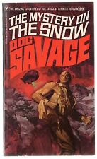 Doc Savage Book 69 The Mystery On The Snow Paperback Novel 1st Print Bantam VF+