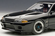 AUTOART 1/18 NISSAN SKYLINE GT-R R32 GROUP A BLACK 89082 LIMITED 1,000 PIECES