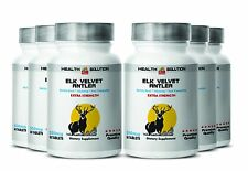 Deer Antler  Velvet Extra Strength   Saw Palmetto  Boost Growth, Sex Drive 6B