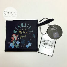 DISNEY ARIEL THE LITTLE MERMAID Fold Away Shopper Shopping Tote Bag from Primark