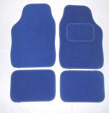 BLUE TAPPETINI AUTO PER FIAT 500 BRAVO GRANDE PUNTO EVO PANDA STILO