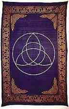 Triquetra Altar Cloth Tapestry Wicca Table Cover Bed Celtic Knot Ritual Pagan