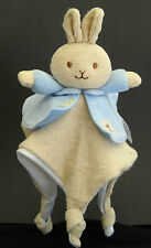 Naturally Better Peter Rabbit Bunny Lovey 2009 Security Blanket Rattle