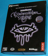 Neverwinter Nights - PC - Big Box - Prima Edizione Completa di Avventura D&D