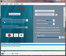 CAPTURE and RECORD INTERNET AUDIO RADIO RECORDER  - WINDOWS PC -MP3 -WAV