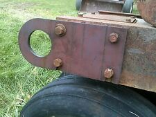 Allis Chalmers WD WD45 45 tractor AC front tow chain down frame rail bracket