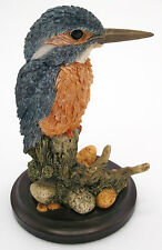 COUNTRY ARTISTS KINGFISHER BIRD FIGURINE BRITISH BIRDS WILDLIFE ENGLAND