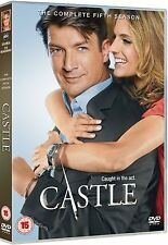 CASTLE COMPLETE SERIES 5 DVD Box Set Season New N3MBURS 5th Fifth UK R2