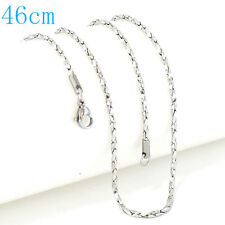 """Snap-It Stainless Steel 18"""" Chain For Snap It Pendants"""