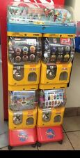 Tomy Gacha Vending Machines. 4 Compartments 1 Display For Each