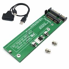 12+6 pins Apple Macbook Air Solid SSD to SATA Convert Adapter Card + Cable