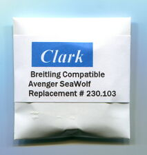 """""""Clark"""" Sapphire crystal for Breitling Avenger SeaWolf 32.4 x 5.04 mm 230.103 AR"""