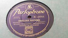 GRAND SYMPHONY ORCH CAVALLERIA RUSTICANA & LARGO PARLOPHONE E10701