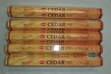 Hem Incense Cedar Bulk 5 x 20 Stick Box, 100 Sticks (Wicca)