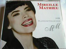 "MIREILLE MATHIEU - COFFRET 3 CDS ""PLATINUM COLLECTION"""