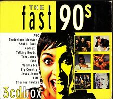 BEST OF THE FAST 90s Pop/Rock 3-CD Fish/Glass Tiger/Rednex/Brother Beyond Party