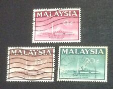 Malaysia 1965 National Mosque KL Complete Set 3v Used