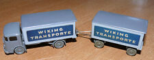 Wiking 664/3-548/1A, Büssing 4500, Kofferlastzug *Wiking Transporte*neuw