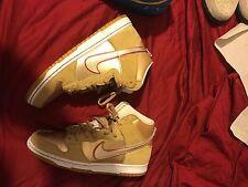 Nike Dunk High Premium SB Vegas Gold-Red Koston Thai Temple 313171-702 SZ 10