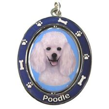"POODLE [White] ""Spinning"" Key Chain"