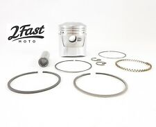 Honda Piston & Rings Kit Std Size Domed Pin Clips C 70 C70M Trail 2FastMoto