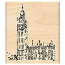 PENNY BLACK RUBBER STAMPS LONDON HOUSES OF PARLIAMENT STAMP