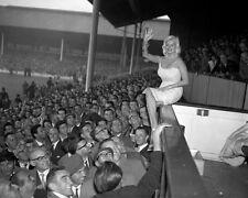Jayne Mansfield at White Hart Lane 1959