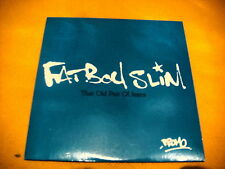Cardsleeve Single CD FATBOY SLIM That Old Pair Of Jeans PROMO 1TR 2006 breaks
