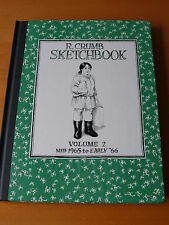 """R. Crumb Sketchbook""  Vol. 2 Hardcover Signed First Edition"