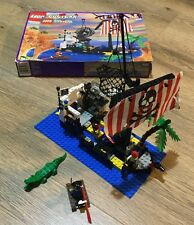 Vintage Lego Pirates Shipwreck Island 6296 - Complete With Box And Instructions