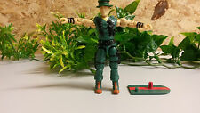 gi joe figure muskrat incomplete NO LOOSE JOINTS OR BROKEN CROTCH
