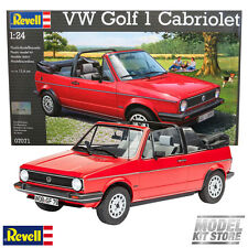 VW Golf 1 Cabriolet - 1/24 Revell Young & Old Car Model Kit #7071 NEW